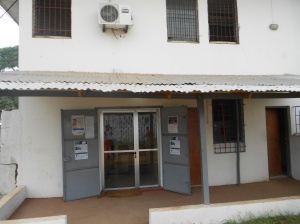 The BSC and Accountability Lab office in Monrovia
