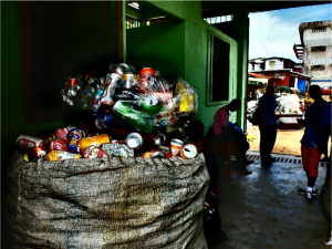 The Green Center, Liberia's first waste segregation, recycling, and composting center.